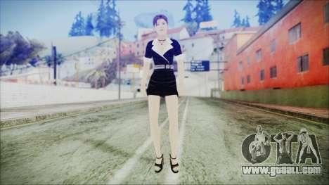 Lara Flaca Business Suit for GTA San Andreas second screenshot