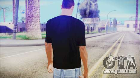 T-Shirt Cane Christmas for GTA San Andreas third screenshot