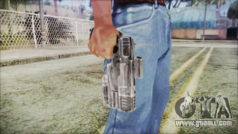 Fallout 4 Heavy 10mm Pistol for GTA San Andreas third screenshot