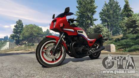 GTA 5 Kawasaki GPZ1100 right side view