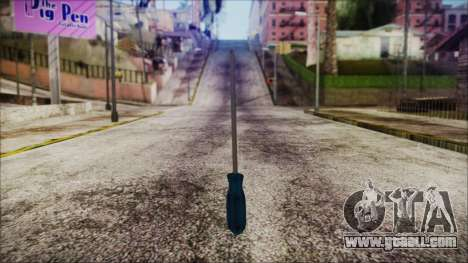 Screwdriver HD for GTA San Andreas second screenshot