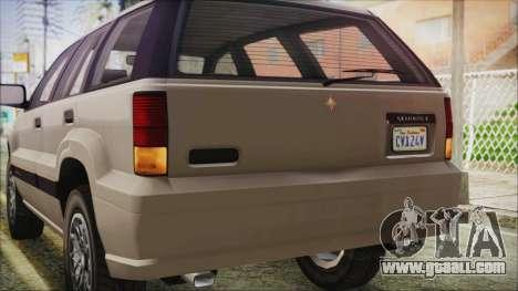 GTA 5 Canis Seminole IVF for GTA San Andreas side view