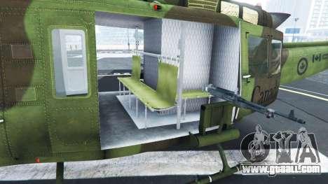 GTA 5 Bell UH-1D Huey Royal Canadian Air Force sixth screenshot