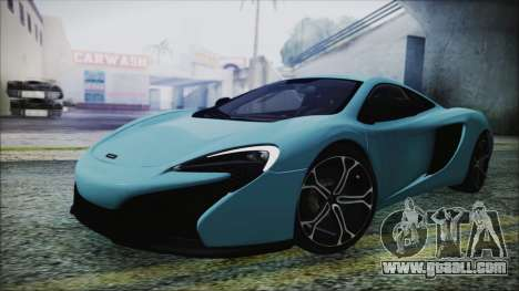 McLaren 650S Coupe 2014 for GTA San Andreas