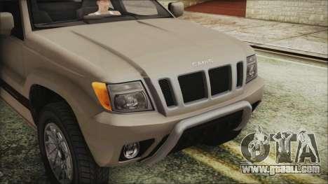 GTA 5 Canis Seminole IVF for GTA San Andreas back view