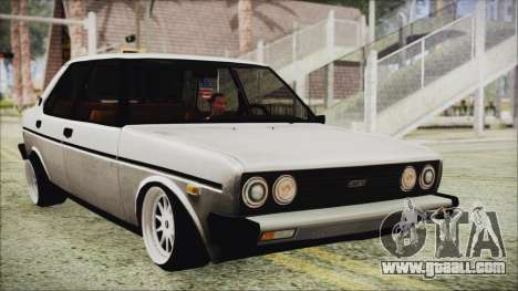 Tofas 131 Mirafiori Edition for GTA San Andreas