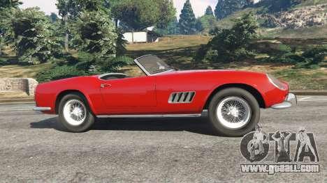 Ferrari 250 California 1957 for GTA 5