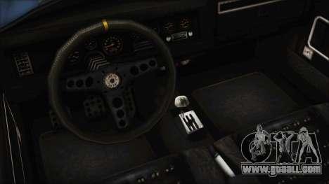 GTA 5 Declasse Mamba for GTA San Andreas back view