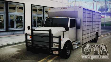 Indonesian Benson Truck In Real Life Version for GTA San Andreas