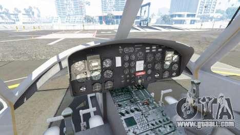 GTA 5 Bell UH-1D Huey Bundeswehr fifth screenshot