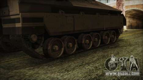 IFV-6C Panther Tracked IFV for GTA San Andreas back left view