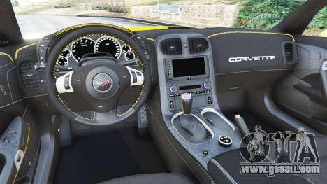 GTA 5 Chevrolet Corvette ZR1 rear right side view