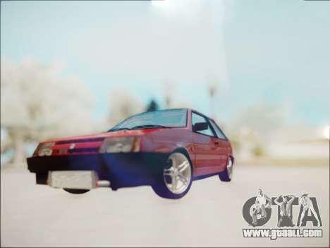 VAZ 2108 Turbo for GTA San Andreas left view
