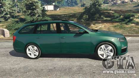 Skoda Octavia VRS 2014 [estate] for GTA 5