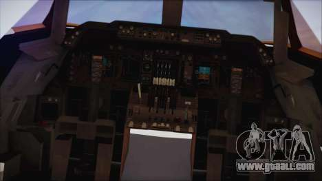 Boeing 747-237Bs Air India Emperor Ashoka for GTA San Andreas right view