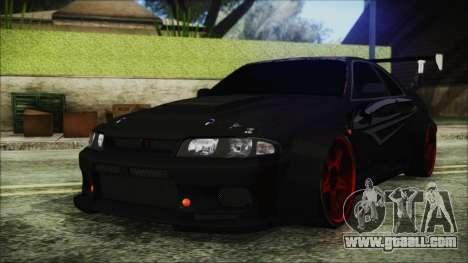 Nissan Skyline R33 Widebody v2.0 for GTA San Andreas