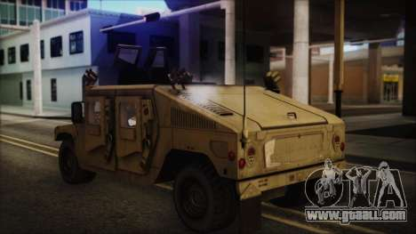 HMMWV Patriot for GTA San Andreas left view