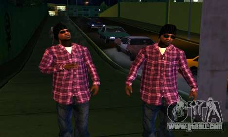 Mens Mega Pack for GTA San Andreas eighth screenshot