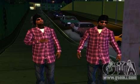 Mens Mega Pack for GTA San Andreas eighth screenshot