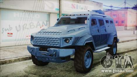 GTA 5 HVY Insurgent Van IVF for GTA San Andreas
