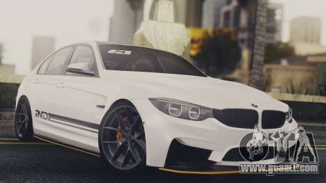 BMW M3 F30 IND EDITION for GTA San Andreas