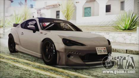 Toyota GT86 Rocket Bunny Tunable HQLM for GTA San Andreas