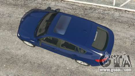GTA 5 BMW X6 M (E71) v1.5 back view