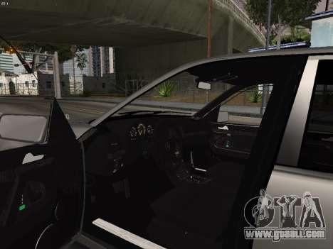 Mercedes-Benz E420 for GTA San Andreas back view