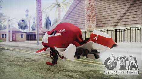 Syndicate Flying Motorcycle for GTA San Andreas left view