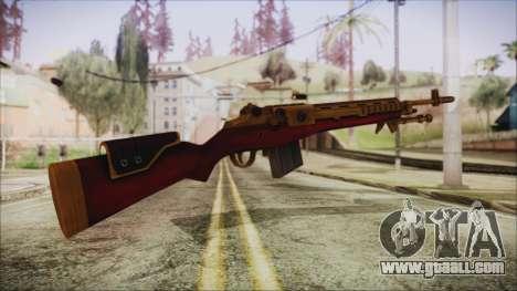 Xmas M14 for GTA San Andreas second screenshot