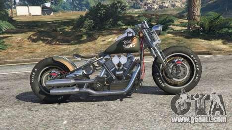Harley-Davidson Knucklehead Bobber for GTA 5