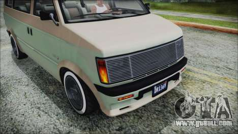 GTA 5 Declasse Moonbeam Custom IVF for GTA San Andreas right view