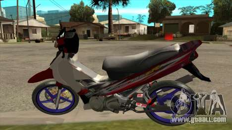 Yamaha 125z for GTA San Andreas left view