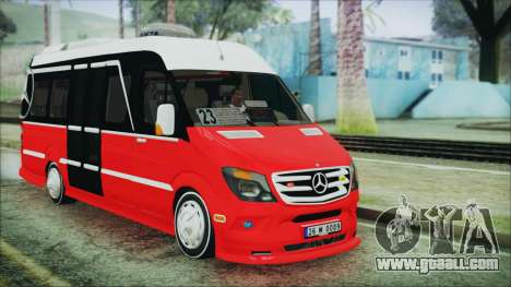 Mercedes-Benz Sprinter 26 M 0009 for GTA San Andreas