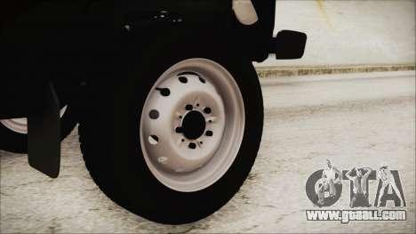 VAZ 2121 Niva 1600 2.0 for GTA San Andreas back left view