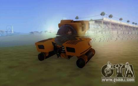 GTA 5 Kraken v1 for GTA San Andreas left view