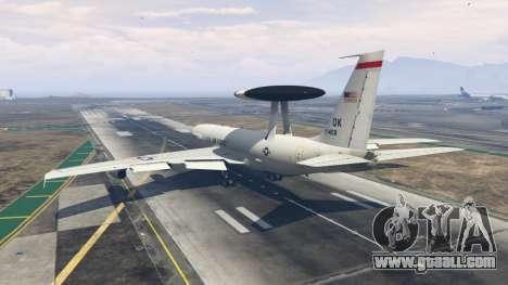 Boeing E-3 Sentry for GTA 5