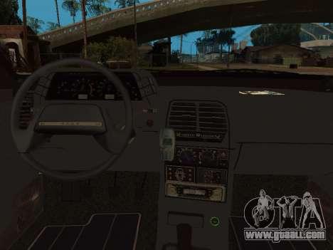 VAZ 2110 DPS for GTA San Andreas bottom view