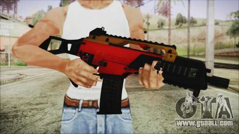 Xmas G36C for GTA San Andreas third screenshot