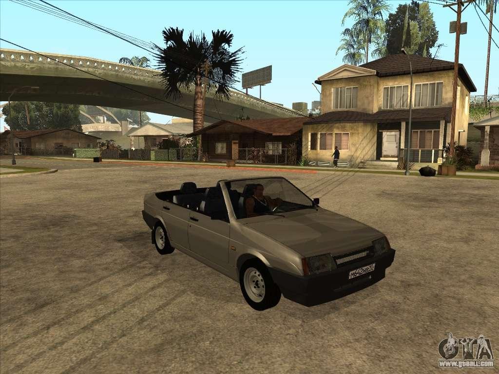 VAZ 21099 Convertible for GTA San Andreas