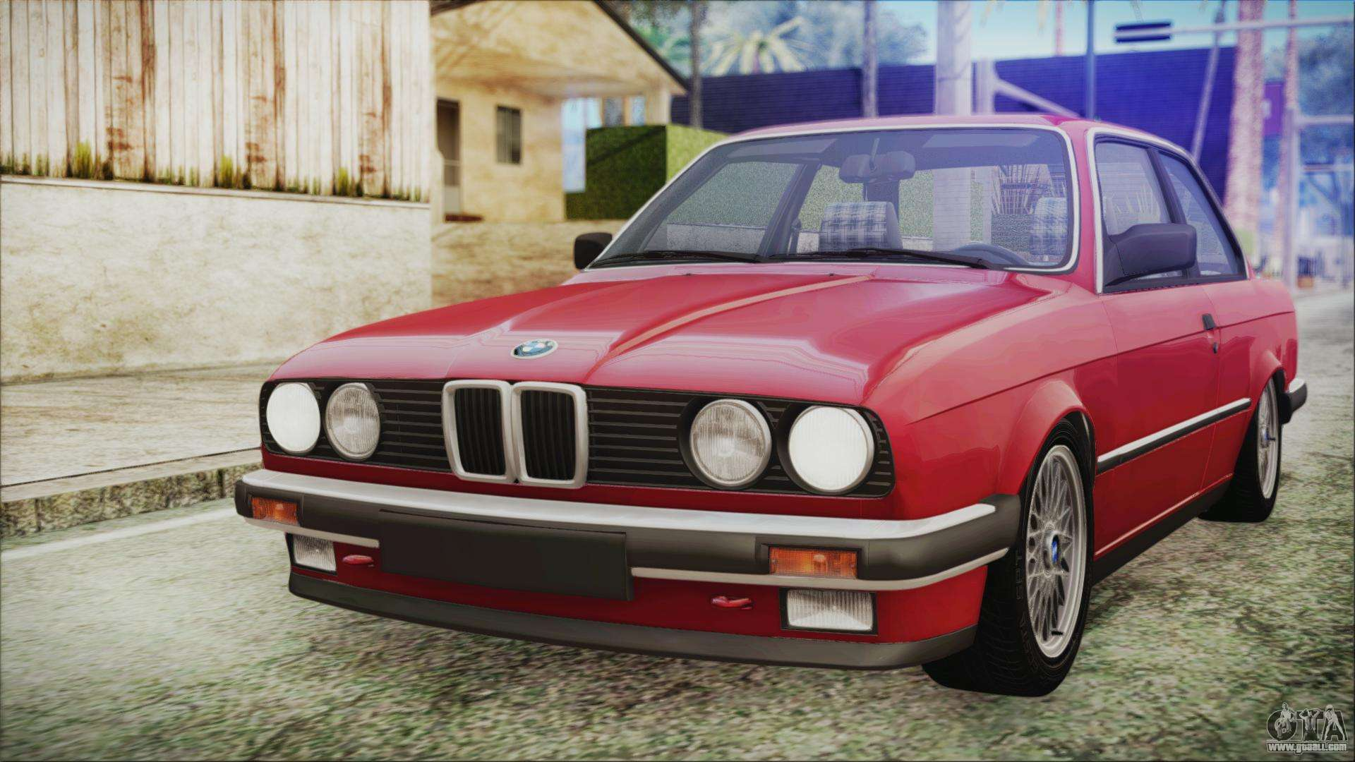 bmw 320i e21 1985 sa plate for gta san andreas. Black Bedroom Furniture Sets. Home Design Ideas