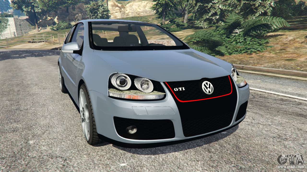 volkswagen golf mk5 gti 2006 for gta 5. Black Bedroom Furniture Sets. Home Design Ideas