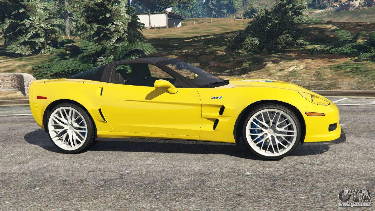 4 Seater Corvette >> Chevrolet Corvette ZR1 for GTA 5