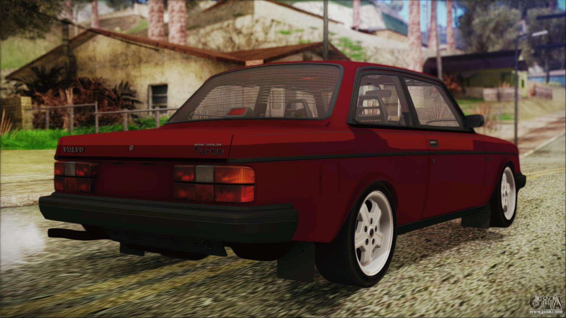 Volvo Turbo 242 Evolution Turbo 1983 For Gta San Andreas
