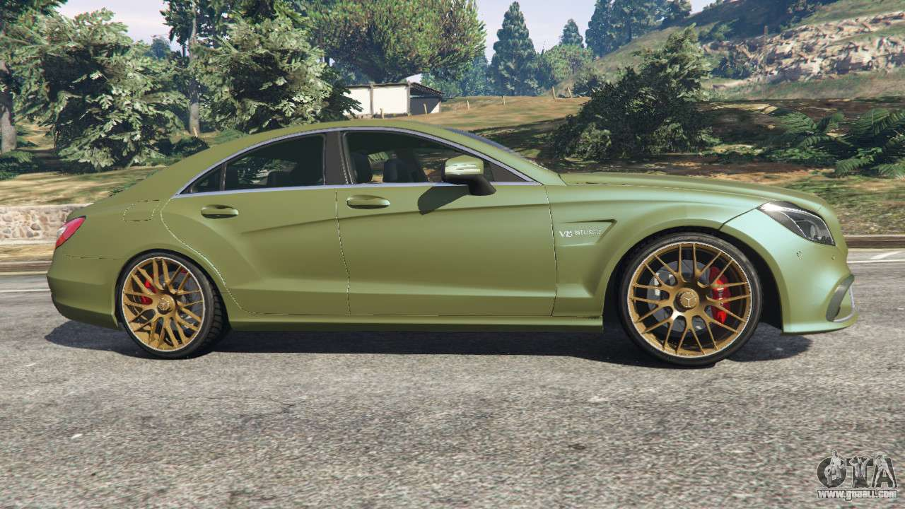 Mercedes benz cls 63 amg 2015 for gta 5 for 63 mercedes benz