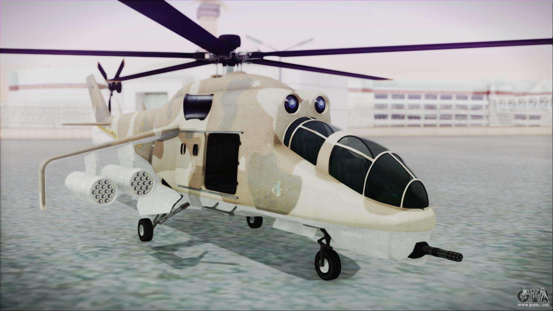 GTA 5 Savage for GTA San Andreas