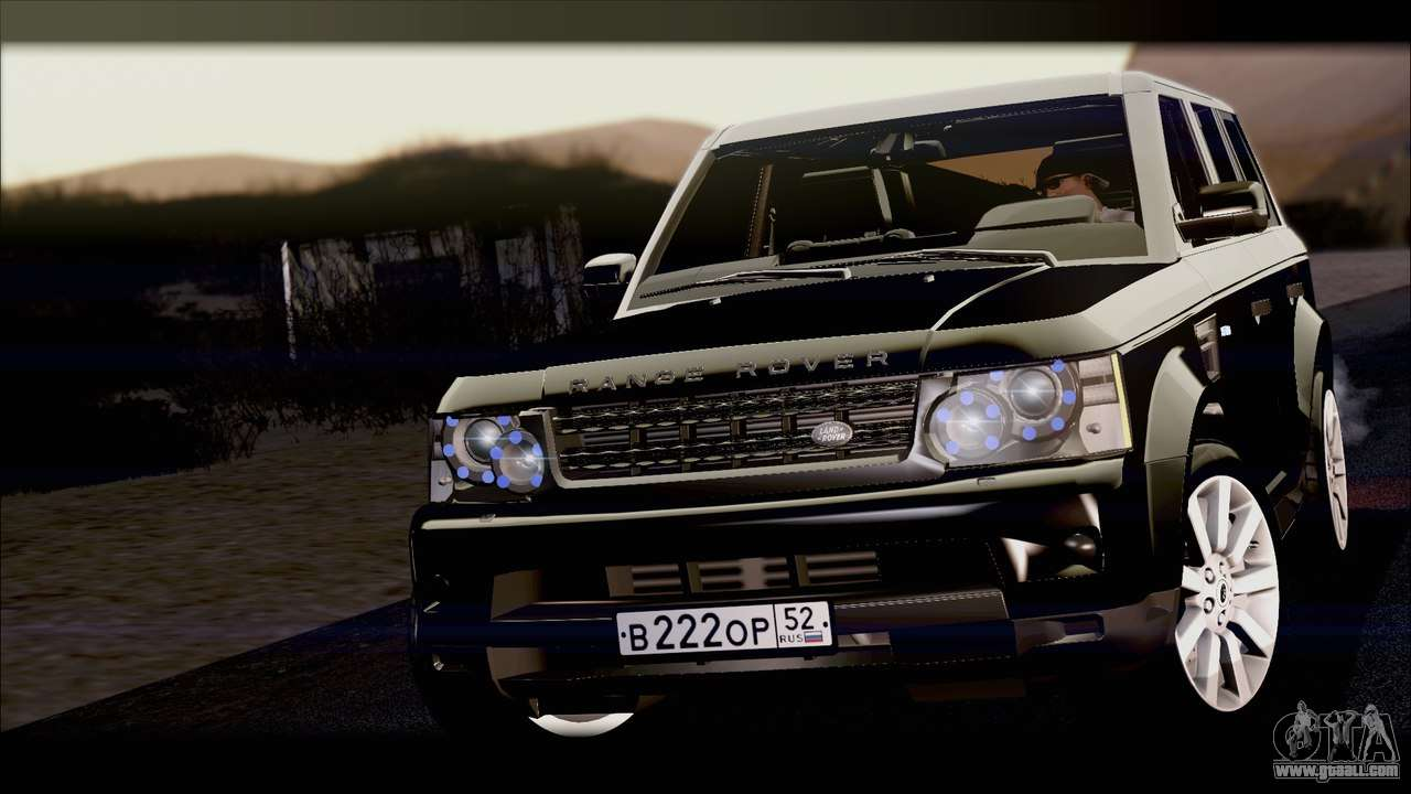 range rover sport 2012 for gta san andreas. Black Bedroom Furniture Sets. Home Design Ideas