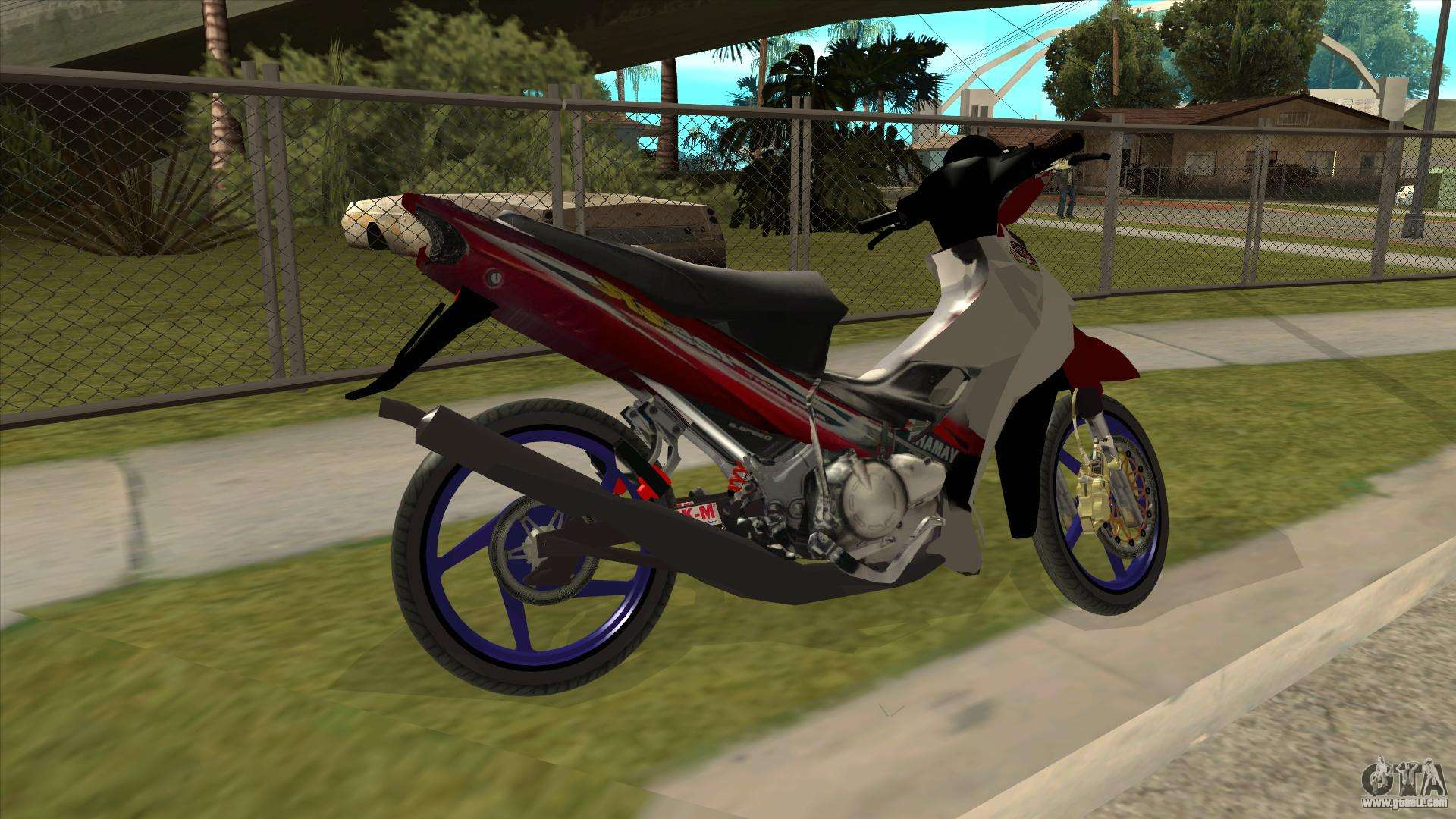 Yamaha 125z For Gta San Andreas