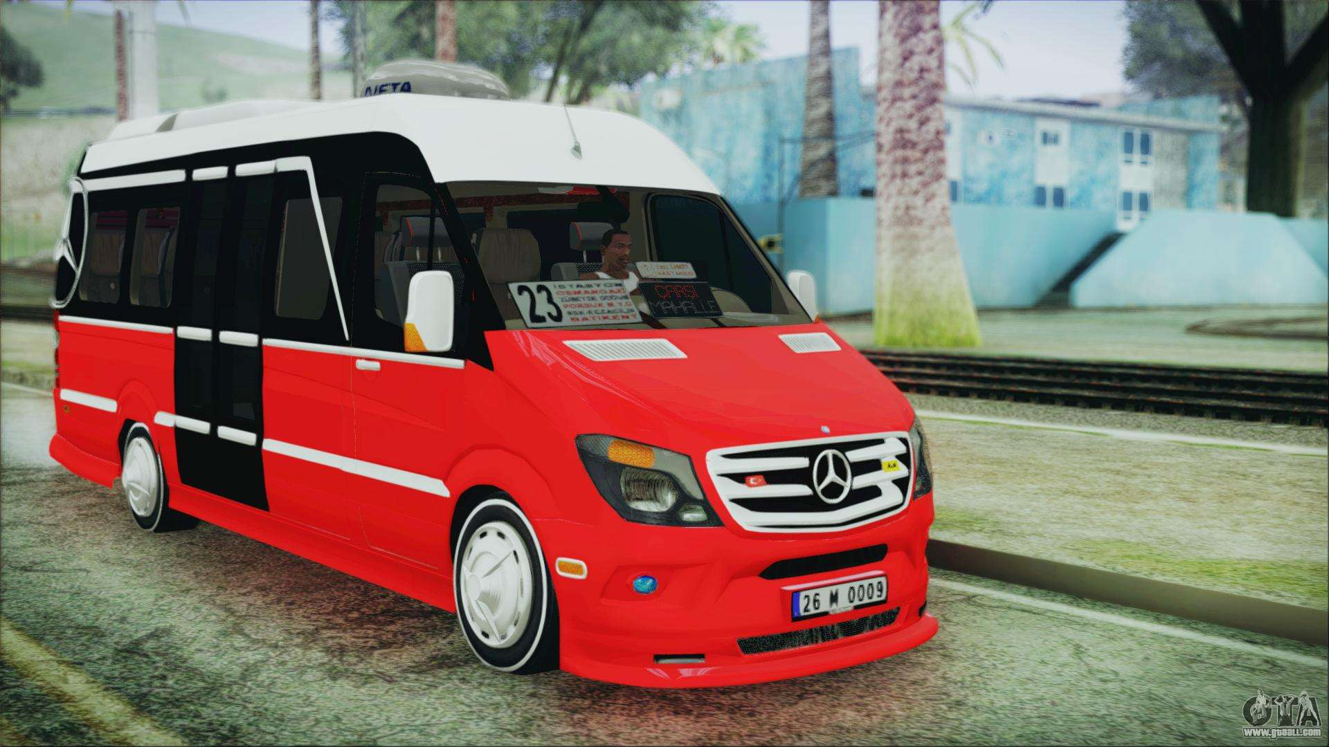 Mercedes benz sprinter 26 m 0009 for gta san andreas for Mercedes benz gta