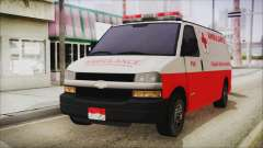 Indonesian PMI Ambulance for GTA San Andreas